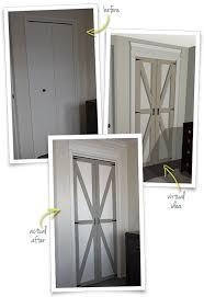 converting bi folds to barn doors