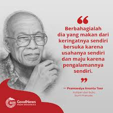 good news from در توییتر bumi manusia quotes by