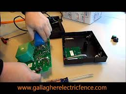 Repairing A Gallagher M1000 Electric Fence Charger Youtube
