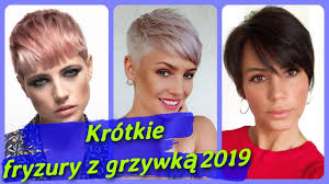Top 20 Modne Krotkie Fryzury Damskie Z Grzywka 2019 Youtube