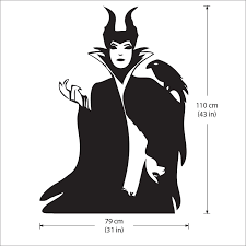 Maleficent Vinyl Wall Art Decal