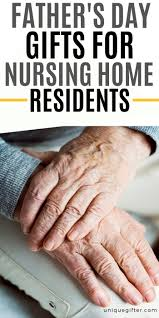 day gifts for nursing home residents