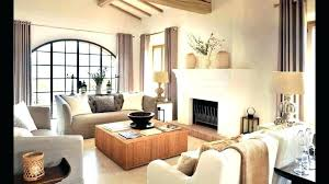 living room corner fireplace decor