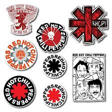 Red Hot Chili Peppers Sticker Set Pack R Buy Online In Aruba At Desertcart