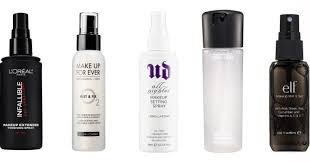 makeup setting spray for oily skin