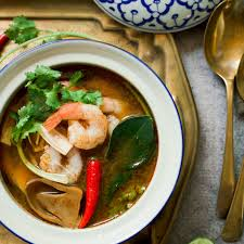 Tom Yum Talay: Spicy Thai Seafood Soup ...