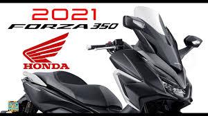 2021 new Honda Forza 350 eSP+ first photos & details - YouTube