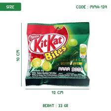 kitkat bites green tea 30gr mma