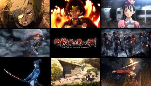 「アニメ 甲鉄城のカバネリ」の画像検索結果