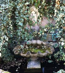 antique water features and fountains