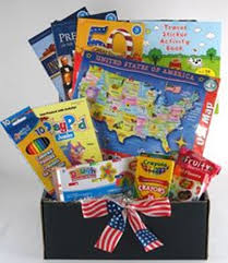 geography and history fun gift package