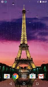 مطر باريس خلفية متحركة For Android Apk Download