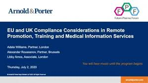 EU and UK Compliance Considerations in Remote Promotion Training ...