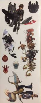 How To Train Your Dragon Wall Stickers For Sale Online Ebay