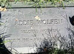 Addie Nelson Wolfen (1884-1953) - Find A Grave Memorial