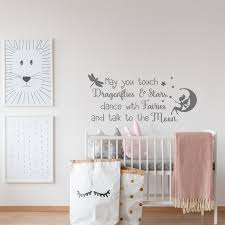 Fairy Wall Decal Wall Decals Nursery Quotes Girl Kids Wall Etsy