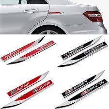 Cars Metal Sticker For Honda Mugen Logo Crv Cr V Fit Jazz Accord 7 8 Civic Odyssey Elysion Insight Side Fender Emblem Decoration Car Stickers Aliexpress