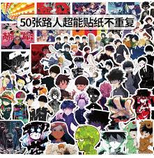 2020 Mixed Car Stickers Mob Psycho 100 Mp100 For Laptop Helmet Skateboard Stickers Pad Bicycle Motorcycle Ps4 Phone Notebook Decal Pvc From Dreamer1995 1 72 Dhgate Com