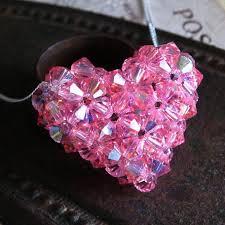 crystal puffy heart tutorial