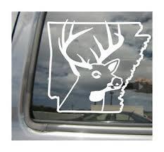 Arkansas Deer Hunter Hunting Season Outdoor Car Window Vinyl Decal Sticker 01209 Ebay