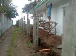 Fencing And Seawall Construction Dumaguete Dream Homes