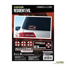Resident Evil Umbrella Corporation Decal Staff Parking Sticker Umbrella Corporation Stickers Umbrella Corporation Car Decal Umbrella Corporation Car Accessories Walmart Com Walmart Com