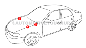 bmw paint code locations touch up