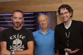 """Erik Huggers on Twitter: """"One of the many highlights of 3 years @intel was  for Simon and I to meet with Andy Grove. Simply inspiring!!  http://t.co/osbETYSmoT"""""""