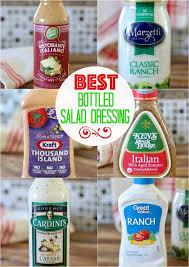 the best bottled salad dressing the