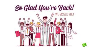 welcome back to work wishes for the first day after holidays