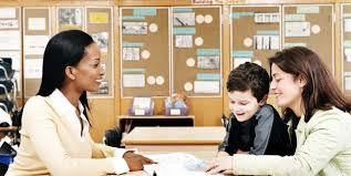 parents meet a teacher