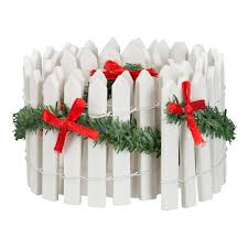 Holiday Time Christmas Village Collectible Picket Fence Table Top Decoration Walmart Com Walmart Com