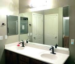 bathroom vanity mirror 30 x 36 framed
