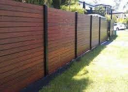 Plain And Simple Horizontal Fence Diy Privacy Fence Fence Design Backyard Fences