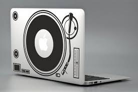 Dj Music Record Vinyl Apple Macbook Laptop Decal Sticker Vinyl Mac Pro Air Retina 11 Quot 13 Quot 15 Quot Laptop Decal Apple Macbook Laptop Decal Stickers