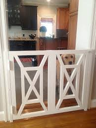 Stylish Dog Gates And Enclosures Building Dreams