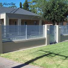 Customized Aluminum Horizontal Garden Gates Louvered Fencing Screen Slat Fence Panels View Garden Gates Shutter Fencing Panels Aluminium Louvre Slat Fence Aluno Product Details From Dongguan Aluno Industry Co Ltd On Alibaba Com