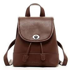 susu small leather backpack purse for
