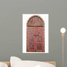 Cutout Arabic Wooden Window Wall Decal Wallmonkeys Com