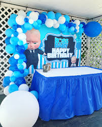 Boss Baby Party Baby Boy 1st Birthday Party Baby Birthday Party Theme Boss Birthday