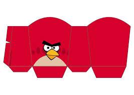 Angry Birds Cajas Para Fiestas Para Imprimir Gratis Angry