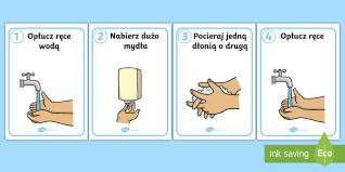 Bildergebnis für mycie rąk instrukcja