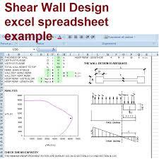 shear wall design based on aci 318 02