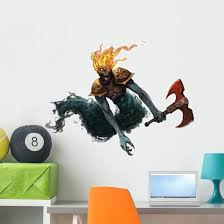 Undead Ghost Creature Fantasy Wall Decal Wallmonkeys Com