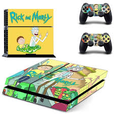 Rick And Morty Ps4 Skin Sticker Consoleskins Co