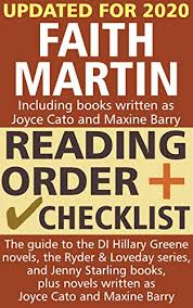 Faith Martin Reading Order and Checklist: The guide to the DI Hillary Greene  series, the Loveday