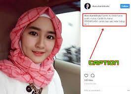 kumpulan caption lucu instagram yang bikin orang senyum