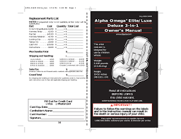 ed bauer 3 in 1 car seat user manual