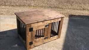 how to build a dog crate made with