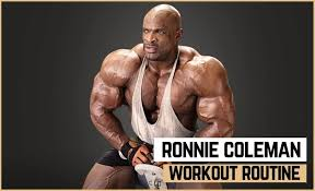 ronnie coleman s workout routine t